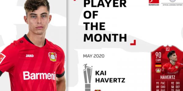 20 yaşlı futbolçu Bundesliqada ən yaxşıdır